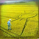 Crop circle - diorama by Dongedy by Dongedy