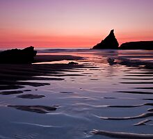 Outbound - Bedruthan Beach - Newquay - North Cornwall Series by LeeMartinImages