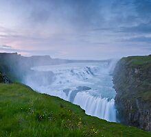 Golden Waterfall #2 by Stefán Kristinsson