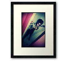 dirty girl Framed Print