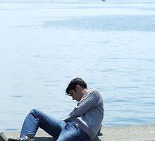 Contemplating by John Douglas