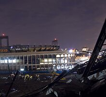 Citi Field viewed from the half Demolished Shea Stadium by DariaGrippo