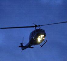 Night chopper by Larry  Grayam