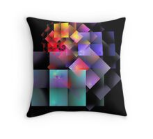 'Cryptic Question' Throw Pillow