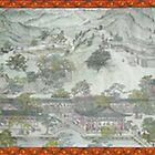 Chen Minglou restore the South Song Dynasty Capital by poemandpainting
