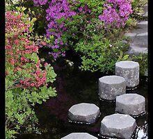 Japanese Gardens by Lyana Votey