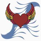 Wings of Love by artyrau