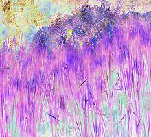 Purple Reeds 4 by Robert Burns