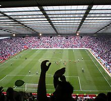 Old Trafford England V Northern Ireland by markburton