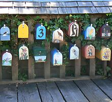Mailboxes by bluemtnblues