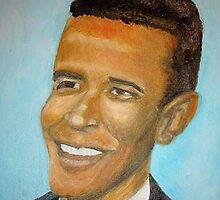 PresidentBarack Hussein Obama II by Artbymarilyn