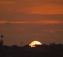 LA Sunset by Chris Parker
