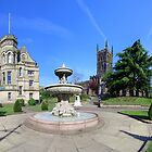 St Peters Church & Gardens - Wolverhampton by Phil Brown
