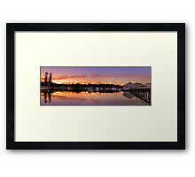 Mosman Bay At Dusk  Framed Print