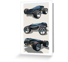 Blues Cruiser Greeting Card