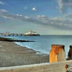 Pier at Sunset, Eastbourne, East Sussex by Craig Williams