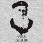 Charles Darwin - Vive la Evolucion! by redsushi1