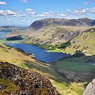 Buttermere and Crummock Water by Peter Hammer
