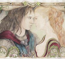 Romeo and Juliet by morgansartworld