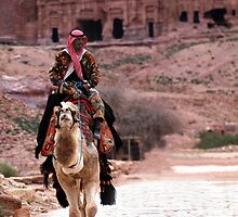 Petra, Jordan by Julie Waller