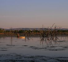 Dusk on Lake Kununurra by Michelle Williams
