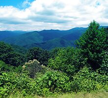 Blue Ridge Mountains by Photosbyneal
