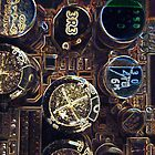 Circuit Board Macro by Birds &  Bees