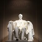 Lincoln Memorial at Night by arushton