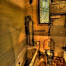 Old Style Convenience - Turkish Baths, Wynstay Estate,- The HDR Experience by Philip Johnson