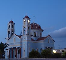 Timios Stavros church, Alikianos Chania by Basiliss