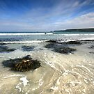 Cornwall : Sennen Cove Surge by Angie Latham