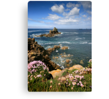 Cornwall : View to the Long Ships Canvas Print