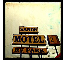 Sands Motel Photographic Print