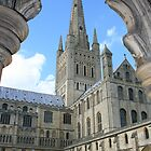 Norwich Cathedral by Mike Warman