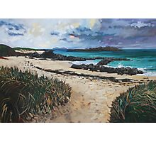 North End Beach, Iona Photographic Print
