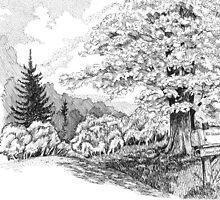 Tree Study(2) by BobHenry