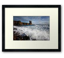 Old Keiss Castle Framed Print