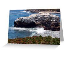 Natural Bridges State Beach Greeting Card
