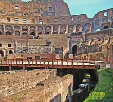 Roman Colosseum  by Al Bourassa