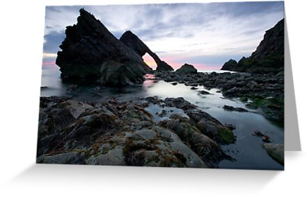 Bow Fiddle Rock, Scotland by Neil Gove