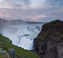 Golden Waterfall #1 by Stefán Kristinsson