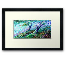 Healing Trees Framed Print