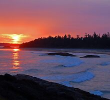 Vancouver Island Sunset - ii by Denise Couturier