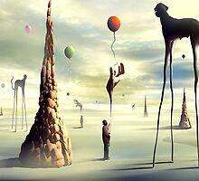 Pegadores de Balões by Marcel Caram