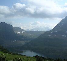 Hidden Lake, Glacier National Park, Montana by 'ö-Dzin Tridral