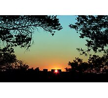 Framed Sunset Photographic Print