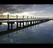 Narrabeen Pool by David Haworth