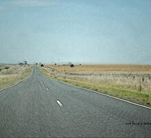 HOT AUSSIE ROADS © by Vicki Ferrari