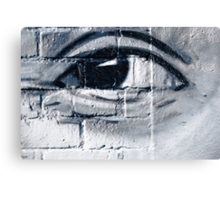 Graffiti eye Canvas Print