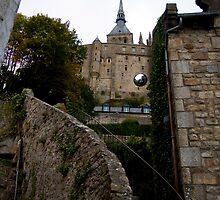 Le Mont St. Michel by Paudie Scanlon